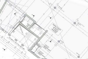Erstellung von Schal- und Bewehrungsplänen - Beispiel Schalplan, Grundriss,